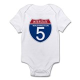 I-5 Washington Infant Bodysuit