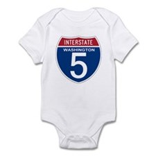 I-5 Washington Onesie