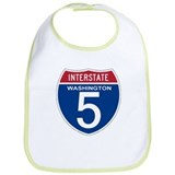 I-5 Washington Bib
