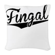 Fingal, Retro, Woven Throw Pillow