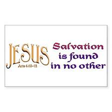 jesus_salvation_bumper Decal