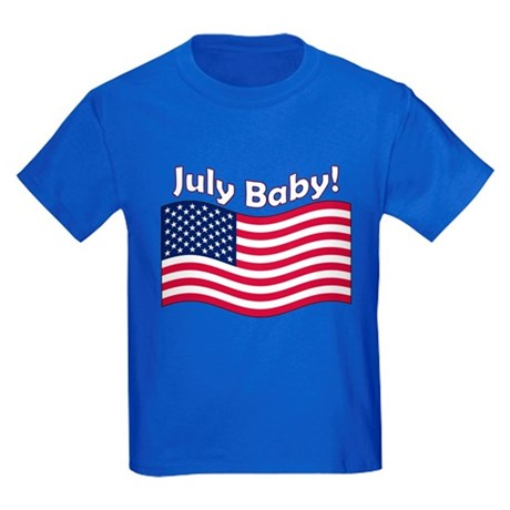 July Baby Kids Dark T-Shirt