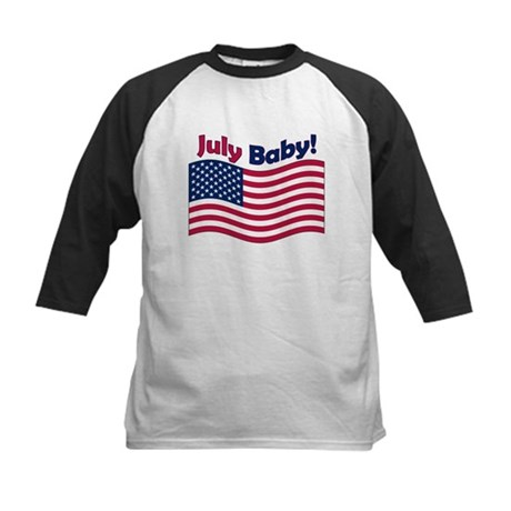 July Baby Kids Baseball Jersey