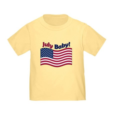 July Baby Toddler T-Shirt