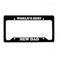 World's Best Dad License Plate Holder