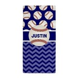 Baseball beach towel Beach Towels