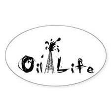 Funny Oil spill Decal