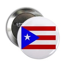 Puerto Rican Flag Button