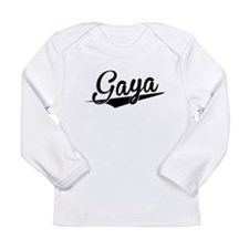 Gaya, Retro, Long Sleeve T-Shirt
