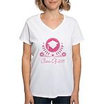 Class of 2019 Women's V-Neck T-Shirt