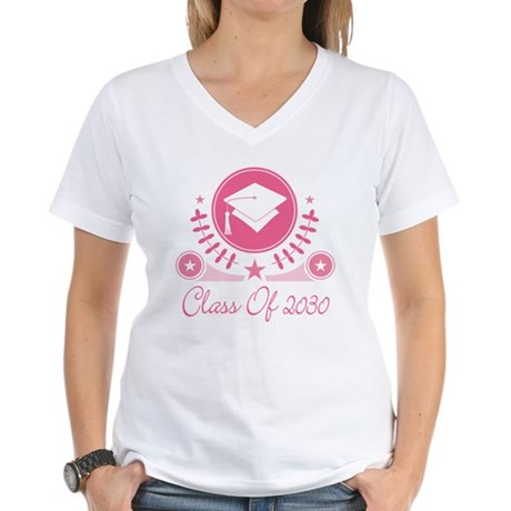 Class of 2030 Women's V-Neck T-Shirt