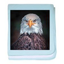 Bald Eagle baby blanket