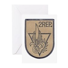 2nd Regiment Legion Greeting Cards (Pk of 10)