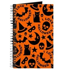 I Love Halloween Journal