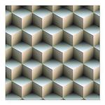 Ambient Cubes Square Car Magnet 3
