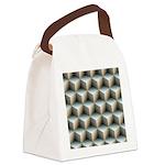 Ambient Cubes Canvas Lunch Bag
