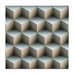 Ambient Cubes Tile Coaster