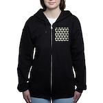Ambient Cubes Women's Zip Hoodie