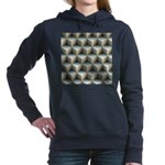 Ambient Cubes Women's Hooded Sweatshirt