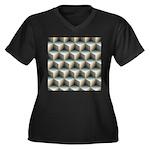 Ambient Cubes Plus Size T-Shirt