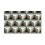 Ambient Cubes Car Magnet 20 x 12