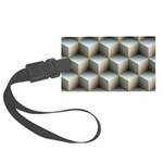 Ambient Cubes Luggage Tag