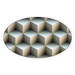 Ambient Cubes Sticker