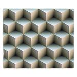 Ambient Cubes King Duvet