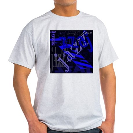 Jazz Blue on Blue Light T-Shirt