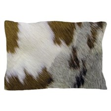 Cowhide Pillow Case