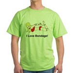 Bondage Lover Green T-Shirt