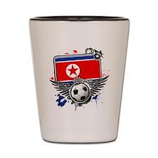 Soccer fans Korea Shot Glass