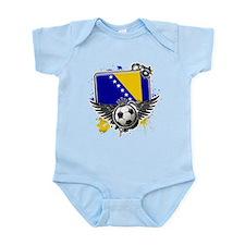 Soccer fans Bosnia Body Suit