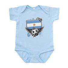 Soccer fans Argentina Body Suit