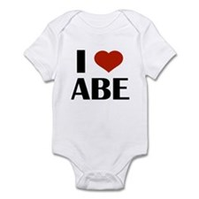 I Heart Abe Body Suit