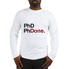 phD PhDone Long Sleeve T-Shirt