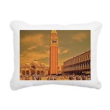 Vintage Venice Rectangular Canvas Pillow