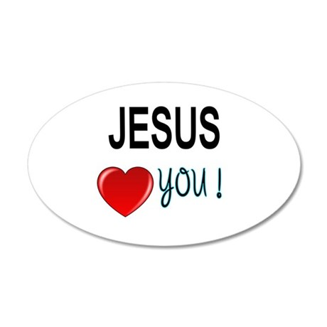 Jesus loves you Wall Decal