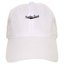 Hampton Beach, Retro, Baseball Baseball Cap