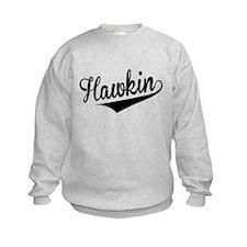 Hawkin, Retro, Sweatshirt