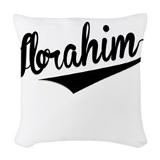 Ibrahim, Retro, Woven Throw Pillow