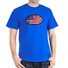 Star Spangled Oval T-Shirt