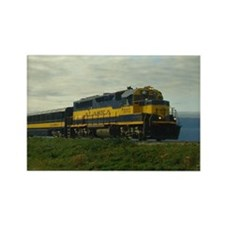 Choo Choo Alaska Rectangle Magnet