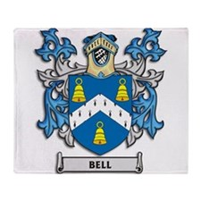 Bell Coat of Arms Throw Blanket