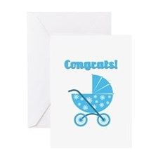 Congrats! Boy Card Greeting Cards