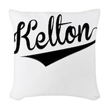 Kelton, Retro, Woven Throw Pillow
