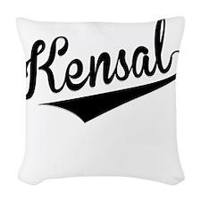 Kensal, Retro, Woven Throw Pillow