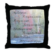 May God Give You Throw Pillow