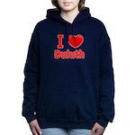 I Love Duluth.jpg Women's Hooded Sweatshirt