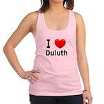 I Love Duluth.jpg Racerback Tank Top